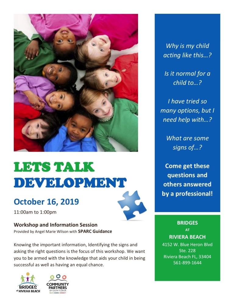 Lets Talk Development
